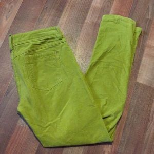 Marco O'Polo lime green skara slim pants